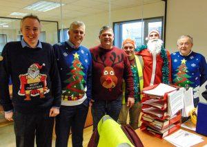 Christmas Charity Work Coen Steel