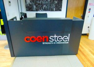 Coen Steel New Offices Opening
